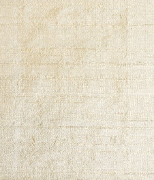 Lyric Curtain Silk Light beige silk fabric with organic slubbed weave and subtle sheen.