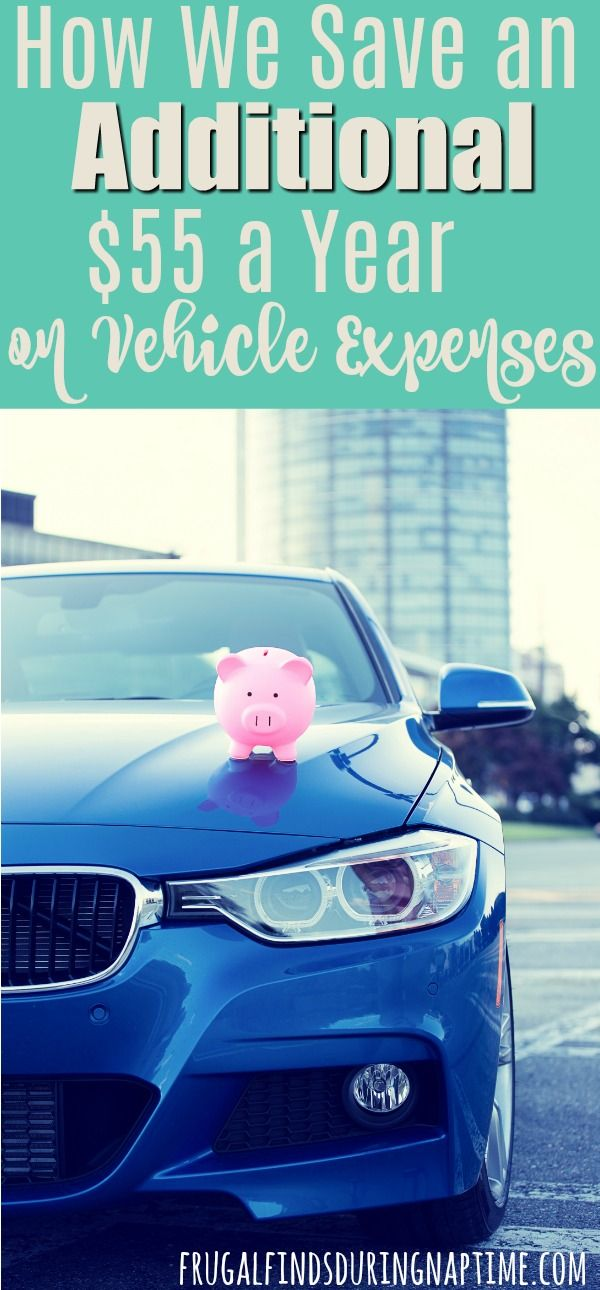 See how my husband spends 20 minutes each quarter and saves us $55 per vehicle per year! It has cut our vehicle expenses, and this tip can cut yours too!