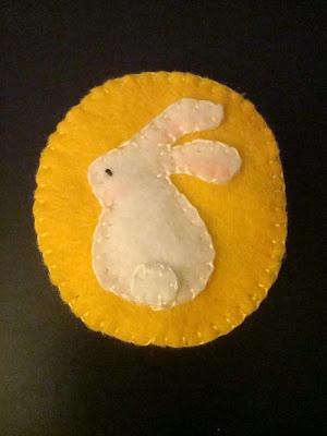 Crystal Panda: Happy Mid-Autumn Festival - Rabbit on the Moon pin