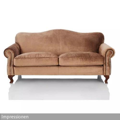Dieses Dreisitzer Sofa Mit Nietenbeschlag Von Impressionen Verleiht Jedemu2026