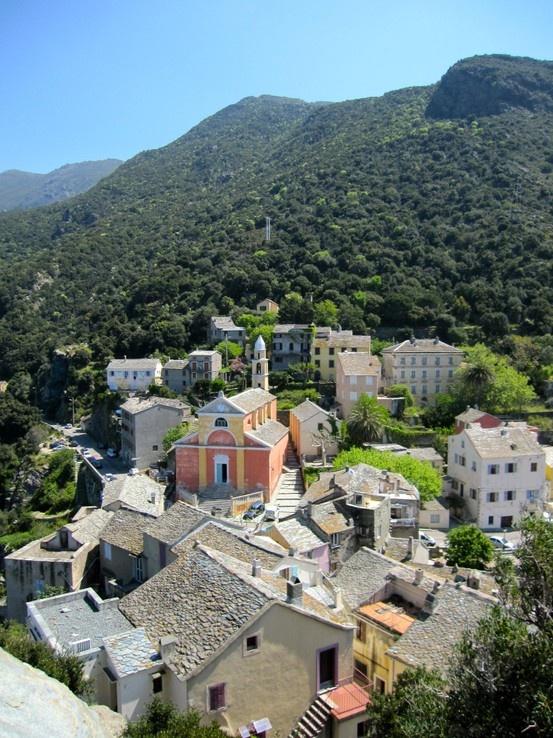 Village de Nonza, Cap Corse