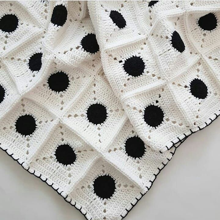 Encantador Patrón Granny Raya Crochet Cresta - Ideas de Patrones de ...