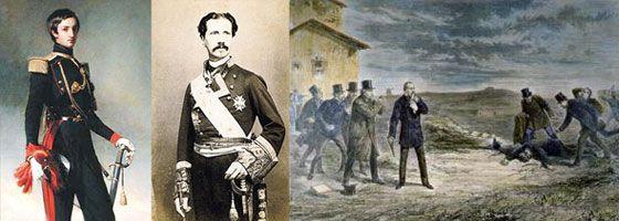"""Efemérides de Madrid. 12 de marzo. 1870.- Tiene lugar """"el duelo de Carabanchel"""", en el que fallece el Infante Enrique de Borbón al batirse contra Antonio de Orleans."""