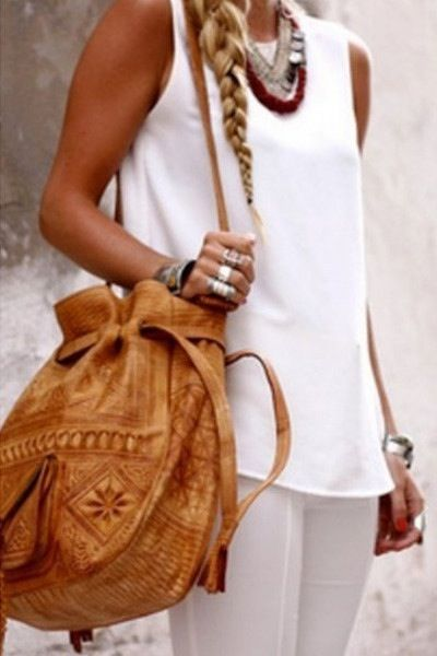 Amays Ivy Leather Bag Sunkist - www.amays.bigcartel.com