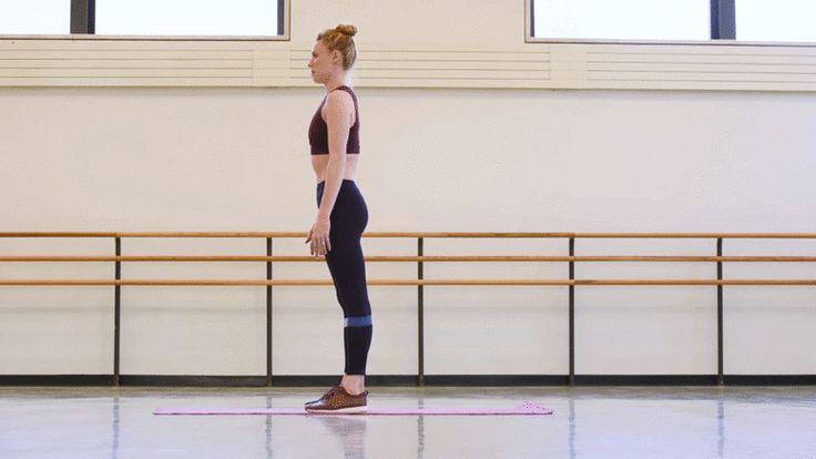 Тренировка балерины New York City Ballet Сары Мирнс