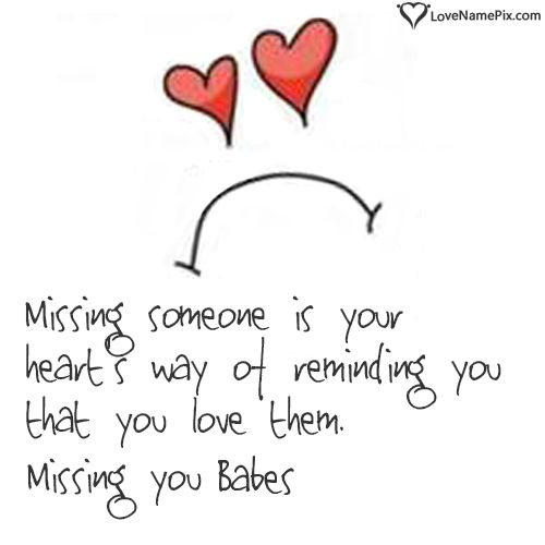 Missing Someone Special Quotes Sayings: Right Click And Save Images As