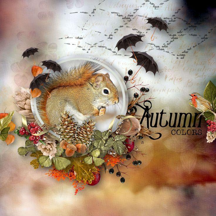 """Autumn Whispers"" by D's Design, https://www.dsdesign.biz/Gallery_.B.htm#Scrap_Store.C/s207177p/Autumn_Whispers_Kit, photo Pixabay"