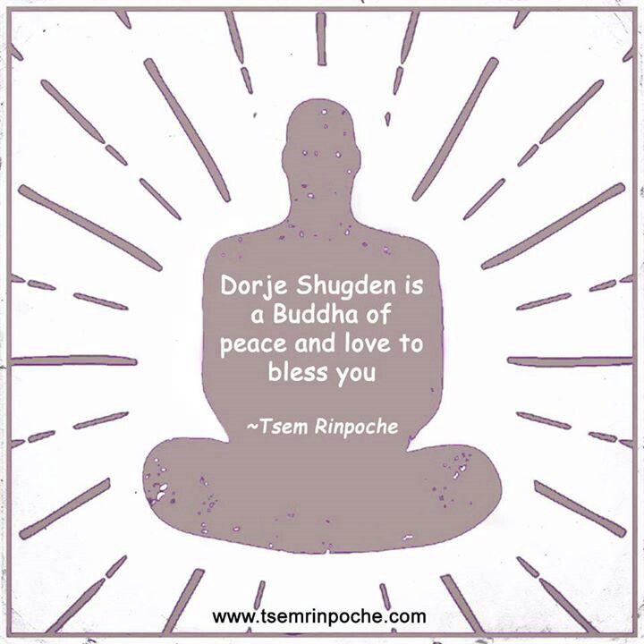 Dorje #Shugden is a #Buddha of #peace and love to bless you. #Buddhism #Dharma #tsemtulku #Meditation #Spirituality
