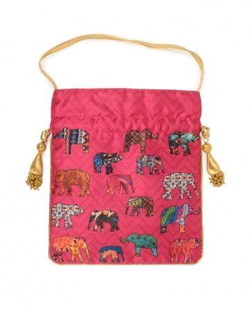 Elephant Potli Bag