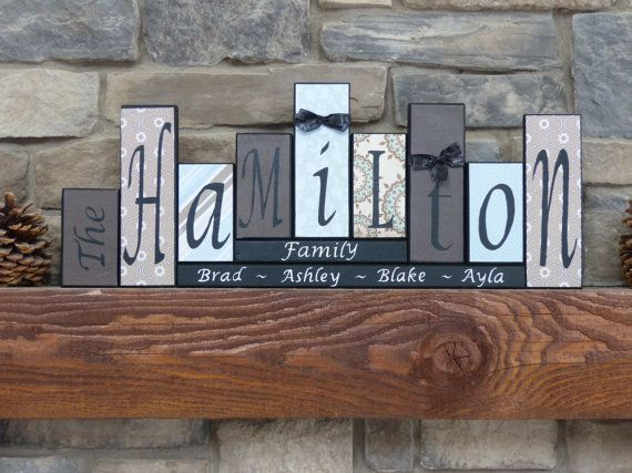 Hey, I found this really awesome Etsy listing at https://www.etsy.com/listing/177500614/family-block-letters-home-decor-unique