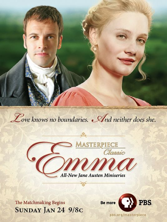 Jane Austen's EMMA. Oh, how I love Mr. Knightley!
