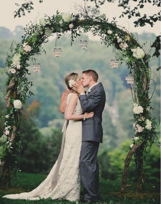 Decoração para Cerimônia de Casamento ao Ar Livre