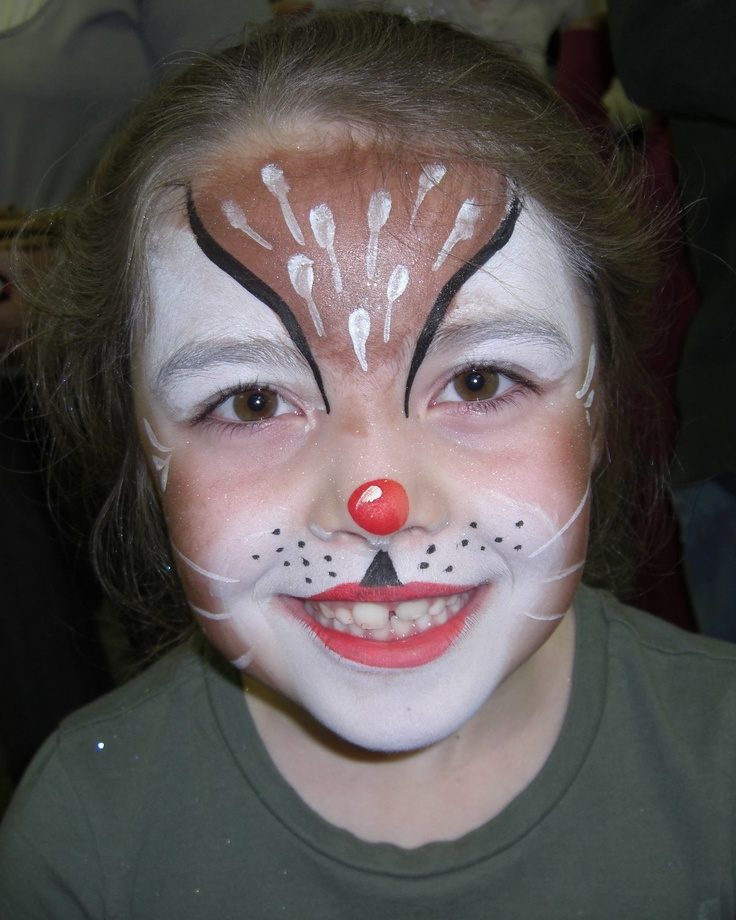 Elf Face Painting Pictures