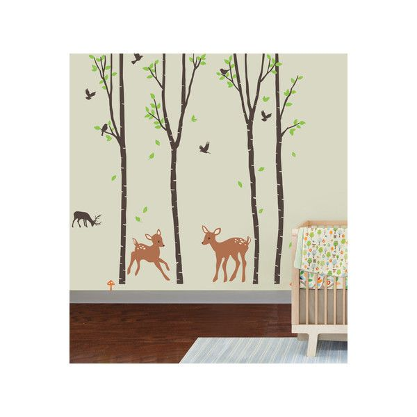 Woodland Wall Decor 37 best nursery wall decals images on pinterest | nursery wall