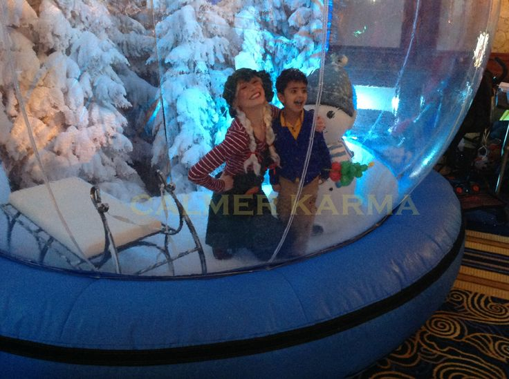 Winter Wonderland themed photo globe to hire with elf character to help the children look their best. http://www.calmerkarma.org.uk/winter-wonderland.htm Perfect for corporate Christmas parties. Hire across the UK inc MANCHESTER, LONDON, Cheshire, BIRMINGHAM, CARDIFF, Bristol