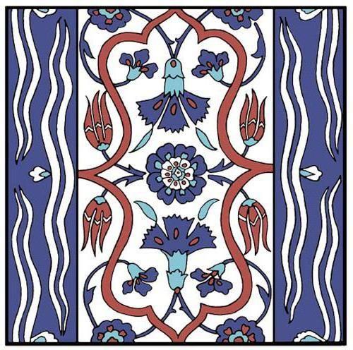 Схема вышивки «Турецкий орнамент» - Схемы автора «lv-sunflower» - Вышивка крестом