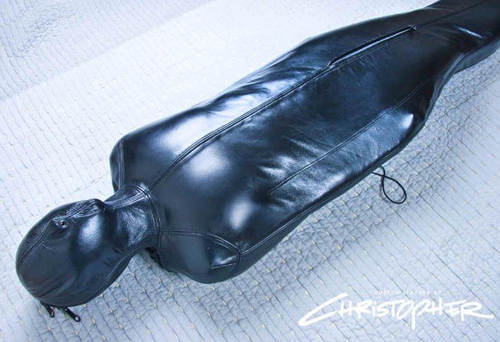 Heavy Leather Sleepsack By Christopherfetish Deviantart