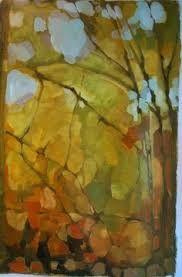 Risultati immagini per dipinti alberi astratti