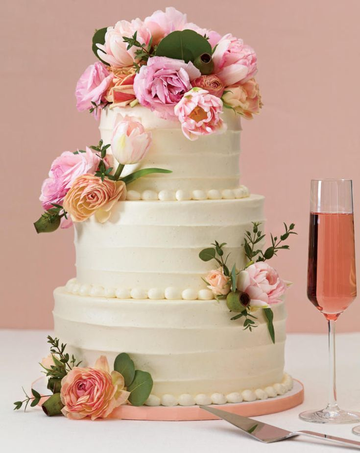 rose wedding cake ideas the 25 prettiest wedding cakes we ve seen 19314