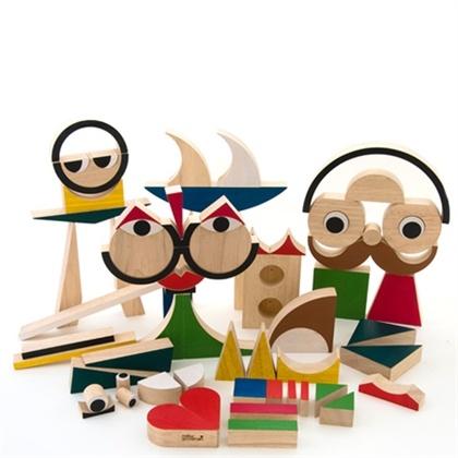 PlayShapes houten speelset! Door Disign Duo Zoe en David MiillerGoodman