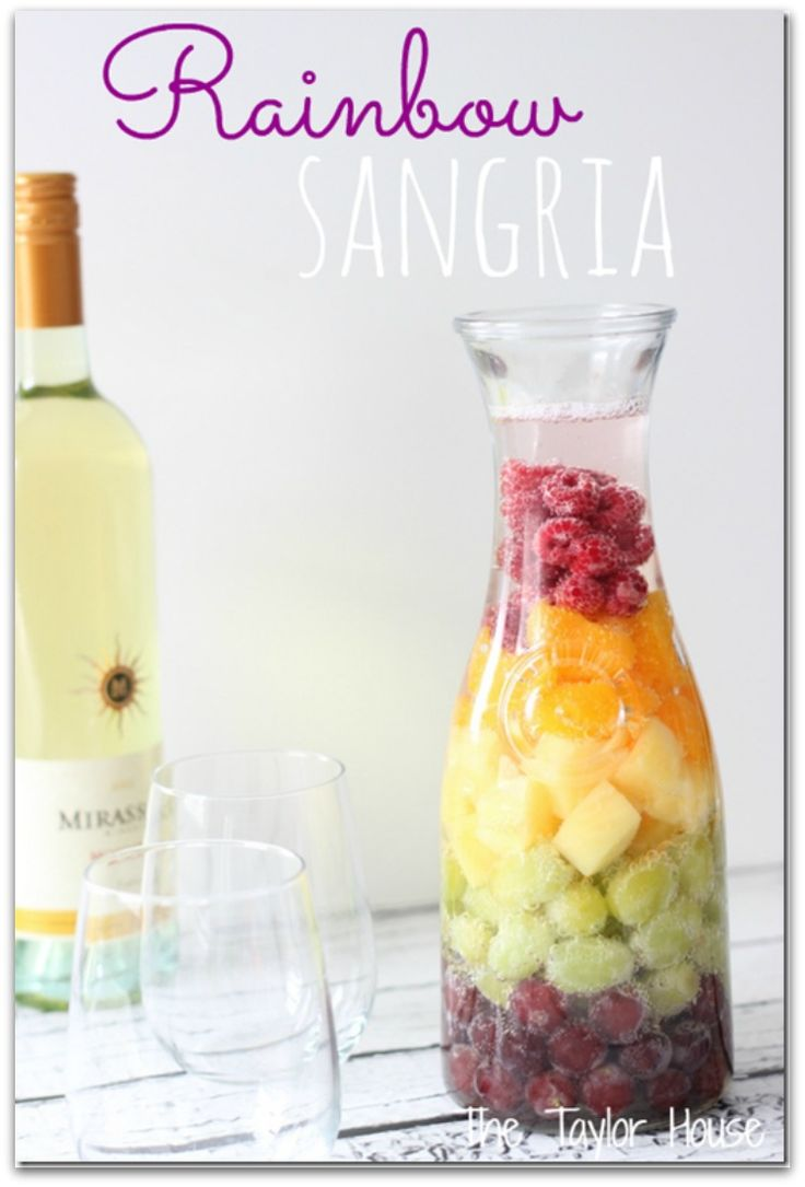 Rainbow Sangria