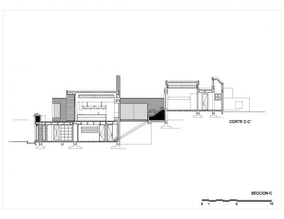 Casa La Petra. Sección C