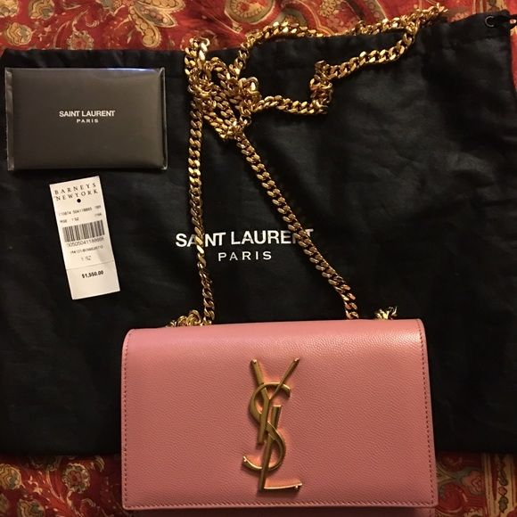 YSL MONOGRAM SMALL CROSSBODY YSL Monogram Small Crossbody with original tag and verification card. Like New condition. Inquire for more pics. Yves Saint Laurent Bags Crossbody Bags