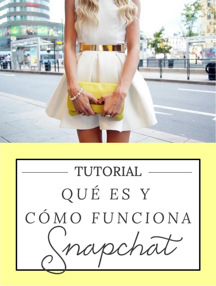 Tutorial Snapchat: qué es y cómo funciona o cómo usarlo