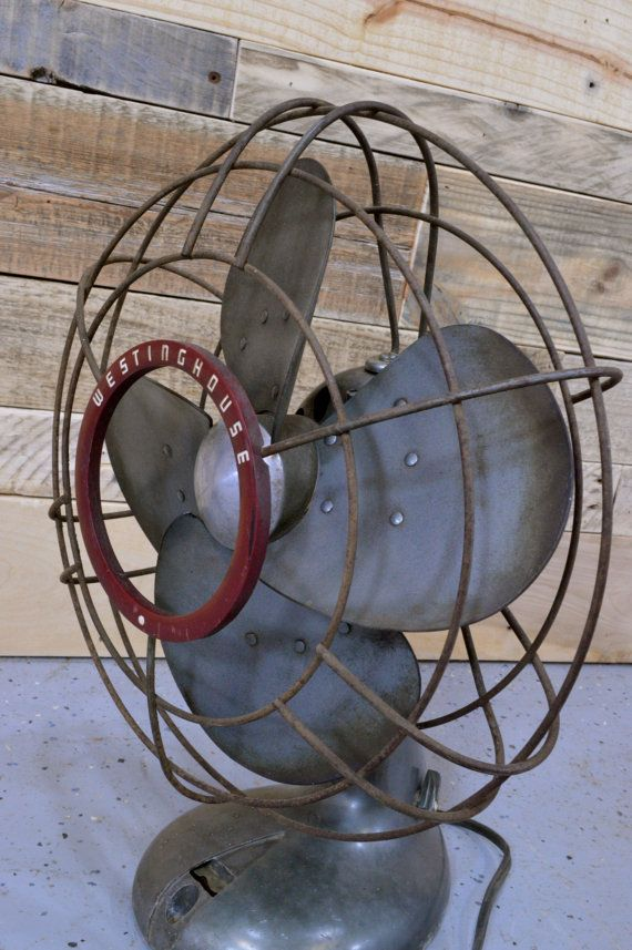 Vintage Westinghouse Fan Industrial Fan Mid Century Fan