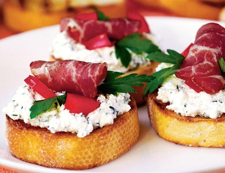 Bruschete câmpenesti | Retete culinare - Romanesti si din Bucataria internationala