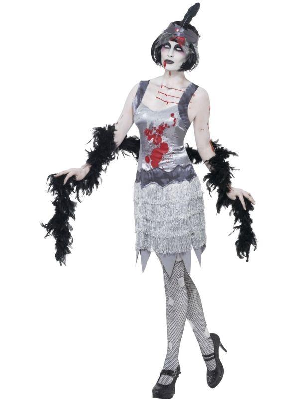 Strój zombie w stylu lat 20.