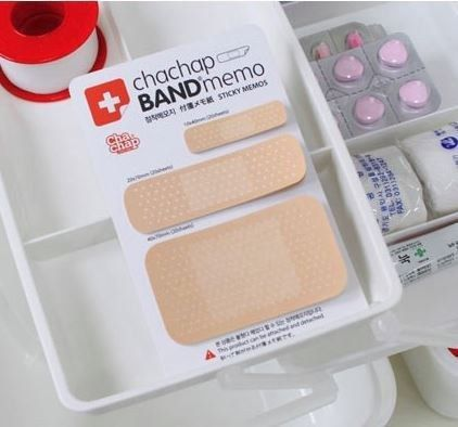 Band Aid Sticky Memo Notes | 23 Infectiously Cool Desk Accessories For Medical Nerds