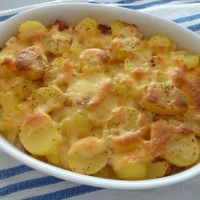 Gratinované brambory podle Dity P.