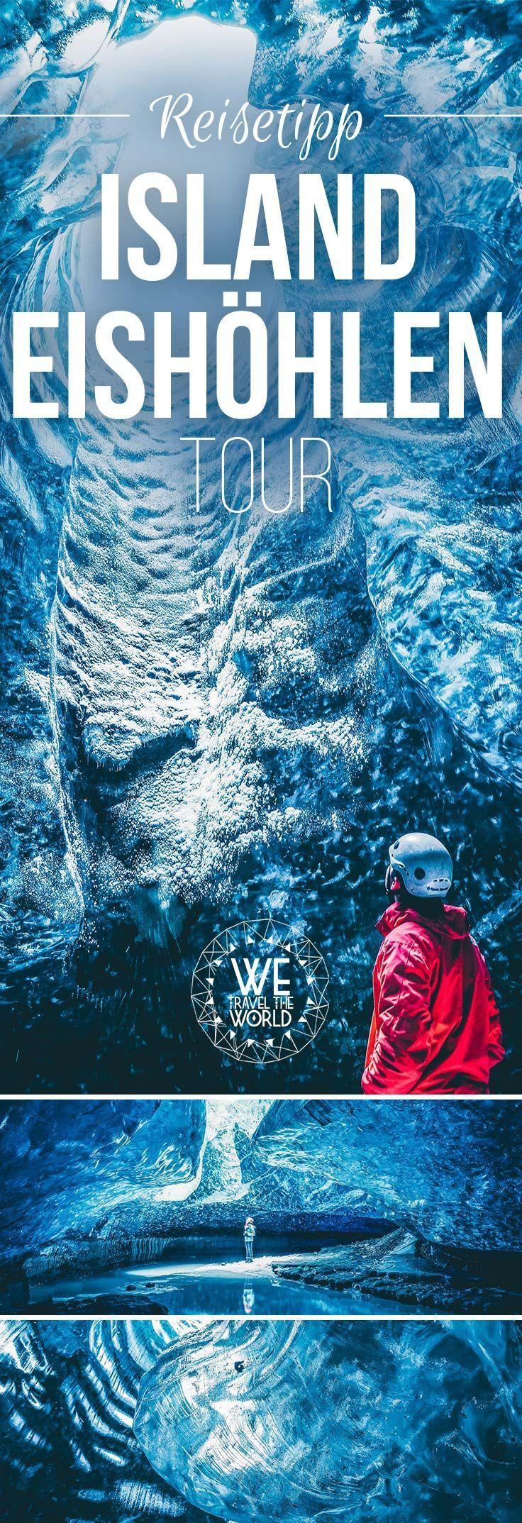 Island Reise: Island Eishöhlen am Gletscher Vatnajökull: Erfahrungsbericht und Reisetipps zu dem Highlight im Süden Islands. Alles was du wissen musst, inkl. Packliste. #island #roadtrip #urlaub