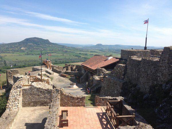 Szigliget, Hungary http://mertutaznijo.cafeblog.hu/2014/07/08/szigligeti-var/ #szigliget #hungary #castle