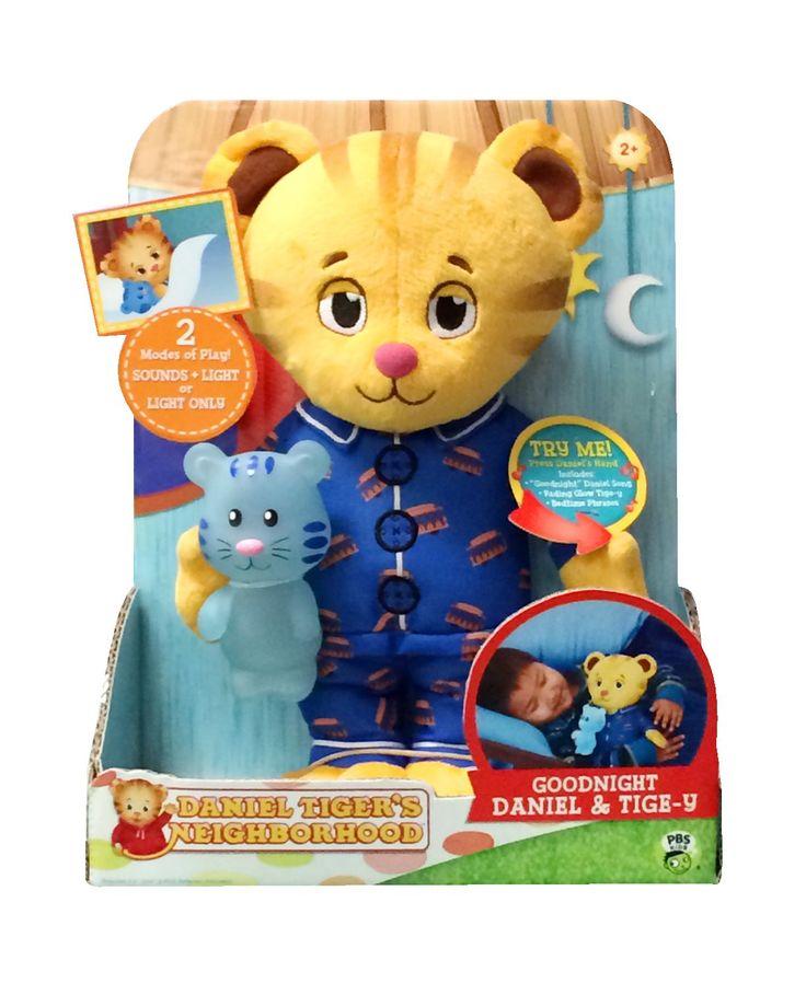 Amazon.com: Daniel Tiger's Neighborhood Goodnight Daniel and Tige-y Musical Toy: Toys & Games