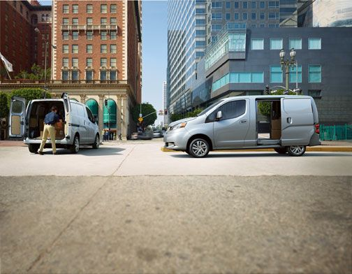 Nissan NV200 vs. Ford Transit Connect