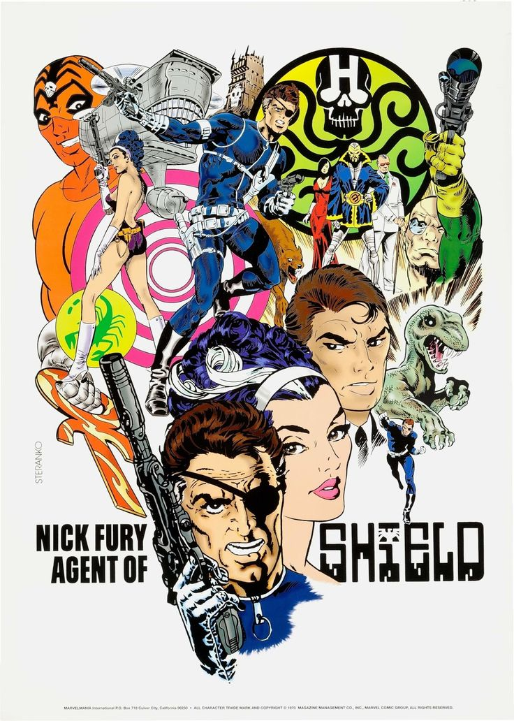 Nick Fury Agent Of SHIELD by Jim Steranko