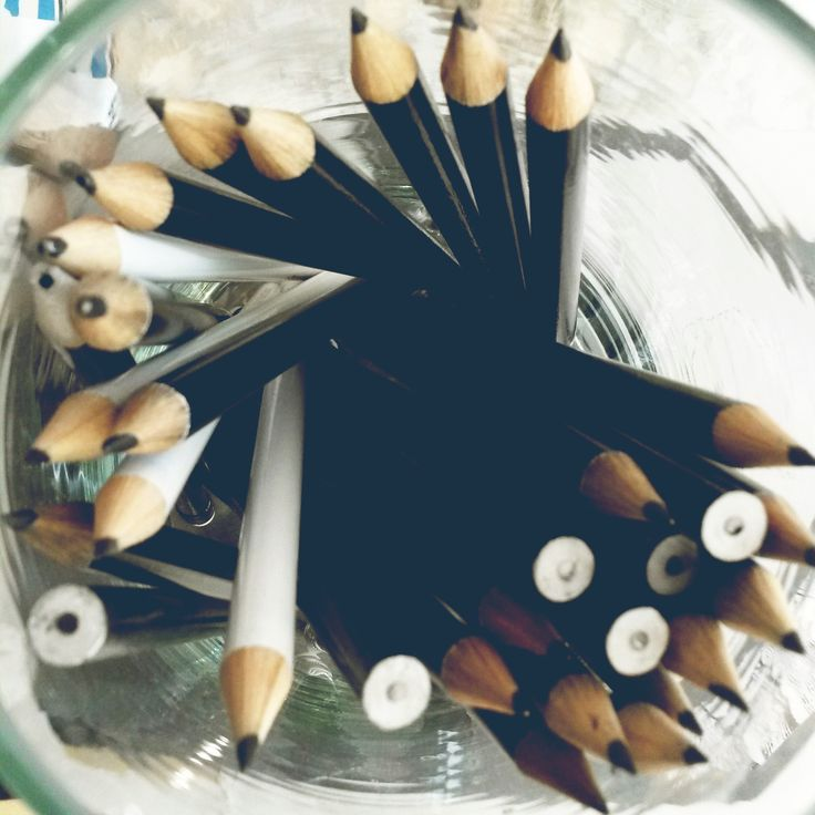 Pencils to create! The beginning of all things great, at Elsje Designs. #pencils #ideas
