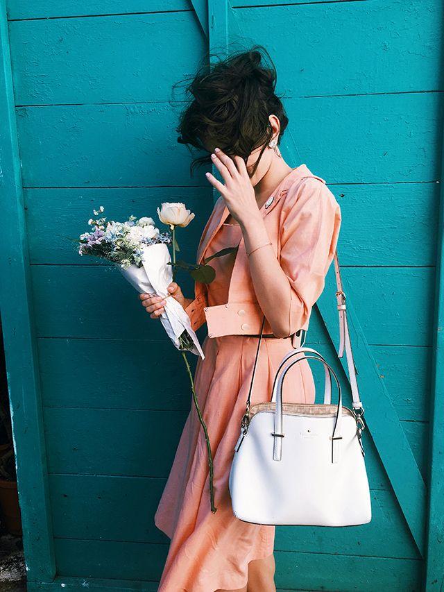 Peachy blooms   finchandfawn.com