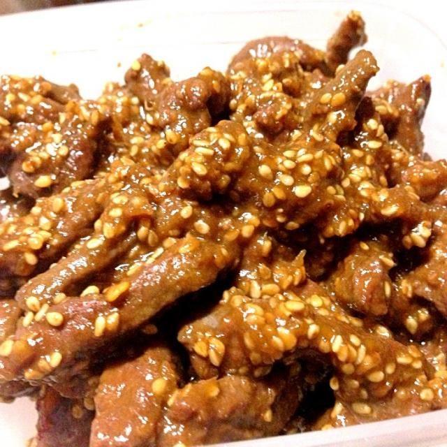 味噌を入れて、こってりと〜❤ 娘、バクバク食べてたよ - 99件のもぐもぐ - 牛レバーの佃煮〜❤ by taepyonpyon