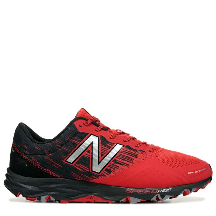 New Balance Men's 690 V2 Medium/X-Wide Trail Running Shoes (Red/Black) - 13.0 4E