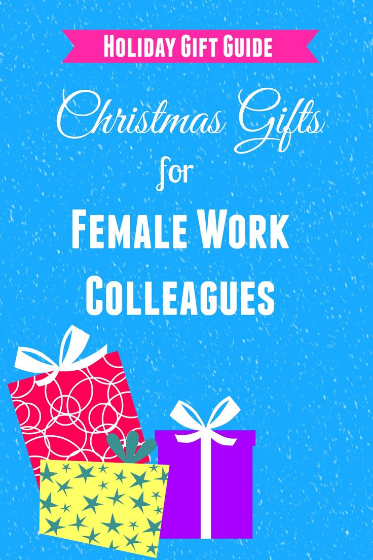 Christmas gifts for female colleagues #christmas #gifts #colleagues