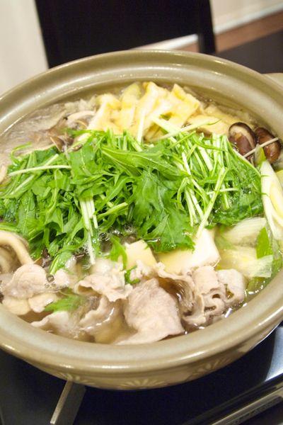お鍋】「水菜使い切り♪豚肉と大根のはりはり鍋」で晩ごはん。 by きち ...