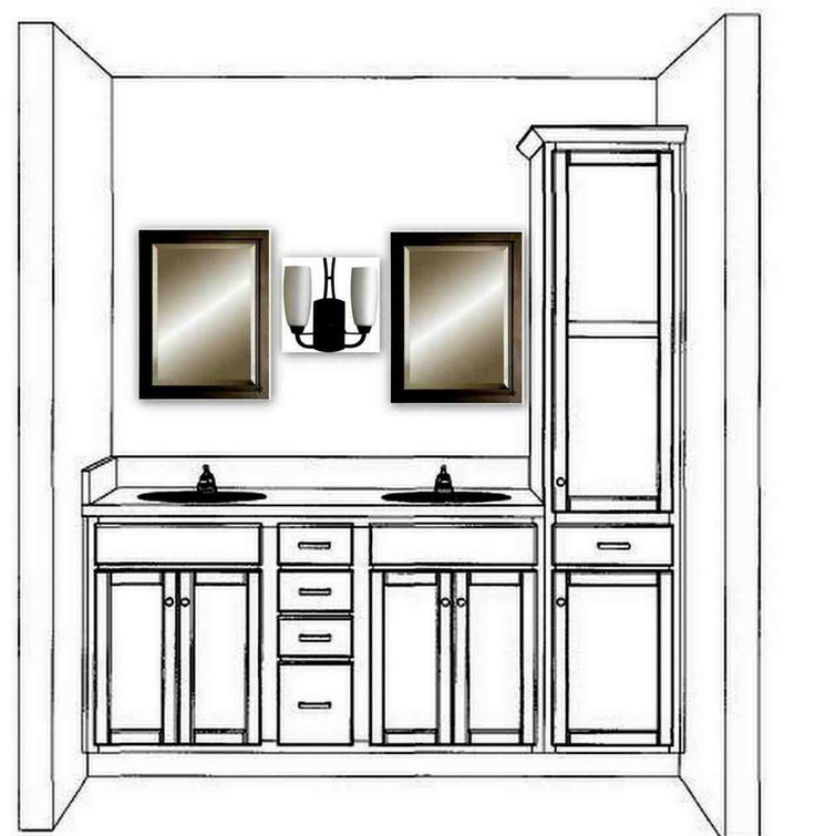 This Double Bathroom Vanities With Towers Vanity Tray Hgtv Tags Bathroom Vanities With