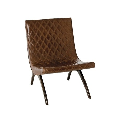 ARTERIORS Home Danforth Leather Accent Chair