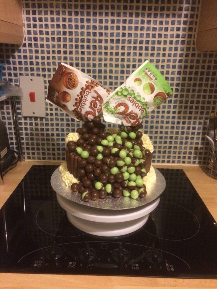 Aero bubbles gravity cake