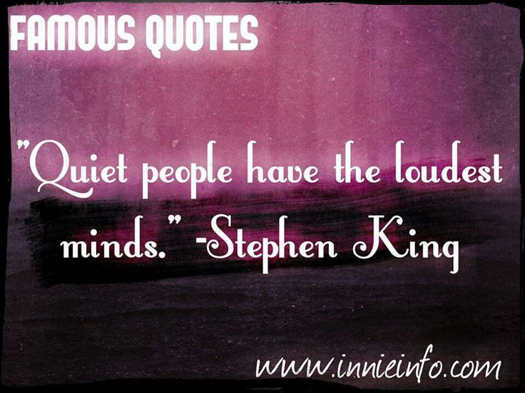 Stephen King Quote. For special requests, please email us at jessica@innieinfo.com or view our full collection at http://innieinfo.com/home/category/gallery © 2016 Innie Info