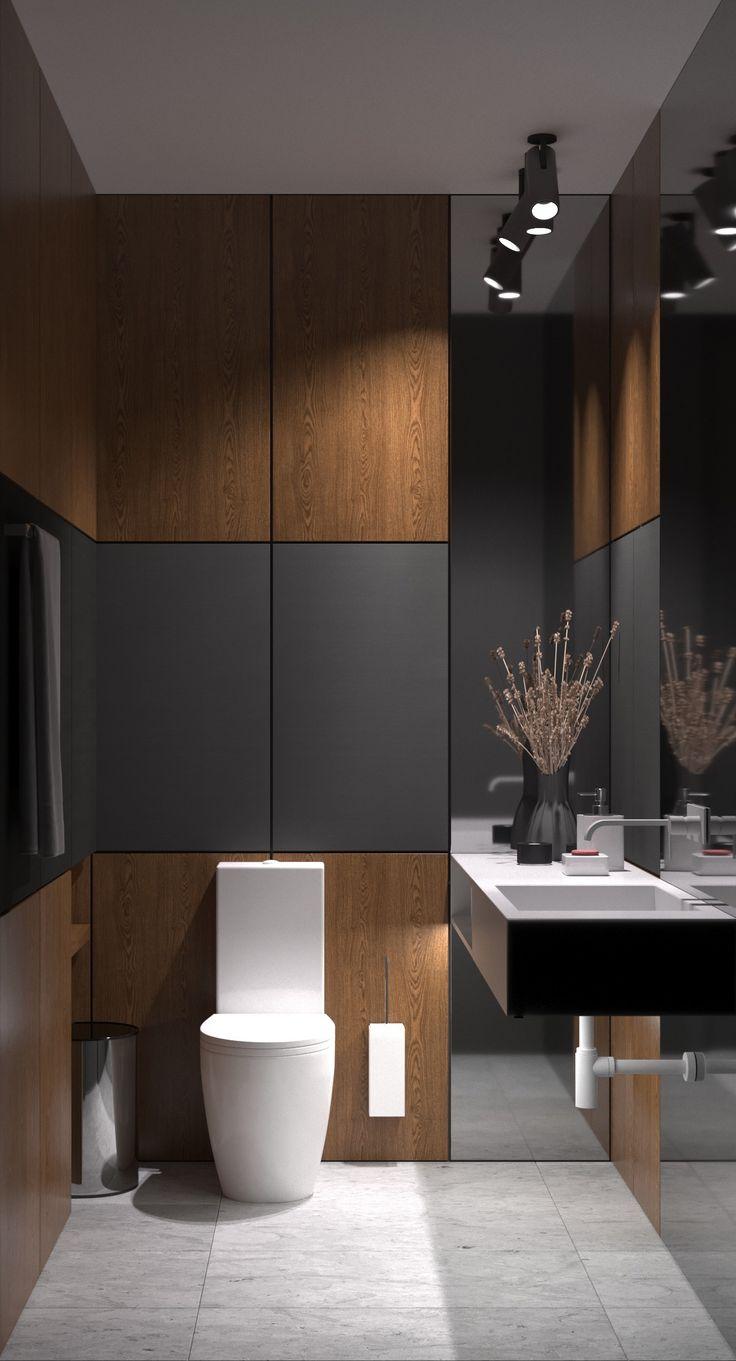 Noir bois et marbre