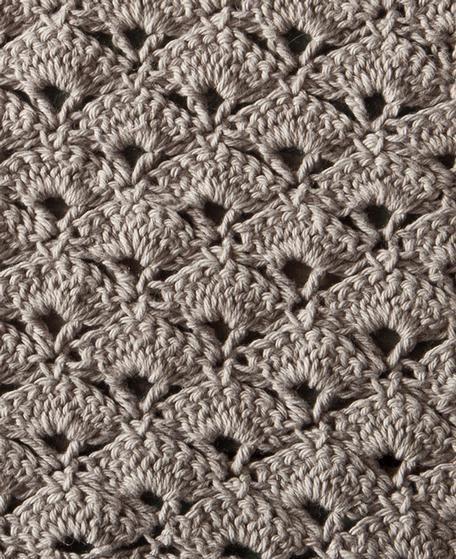 Jazz Age Crochet Washcloth - Knitting Patterns and Crochet Patterns from KnitPicks.com